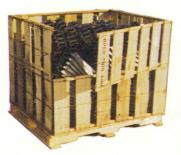 Open Slotted Crate